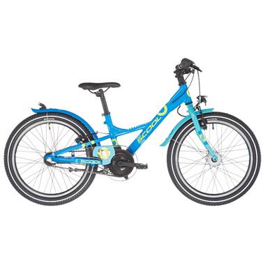 "Vélo de Ville S'COOL XXLITE Alu 3V 20"" Bleu 2021"